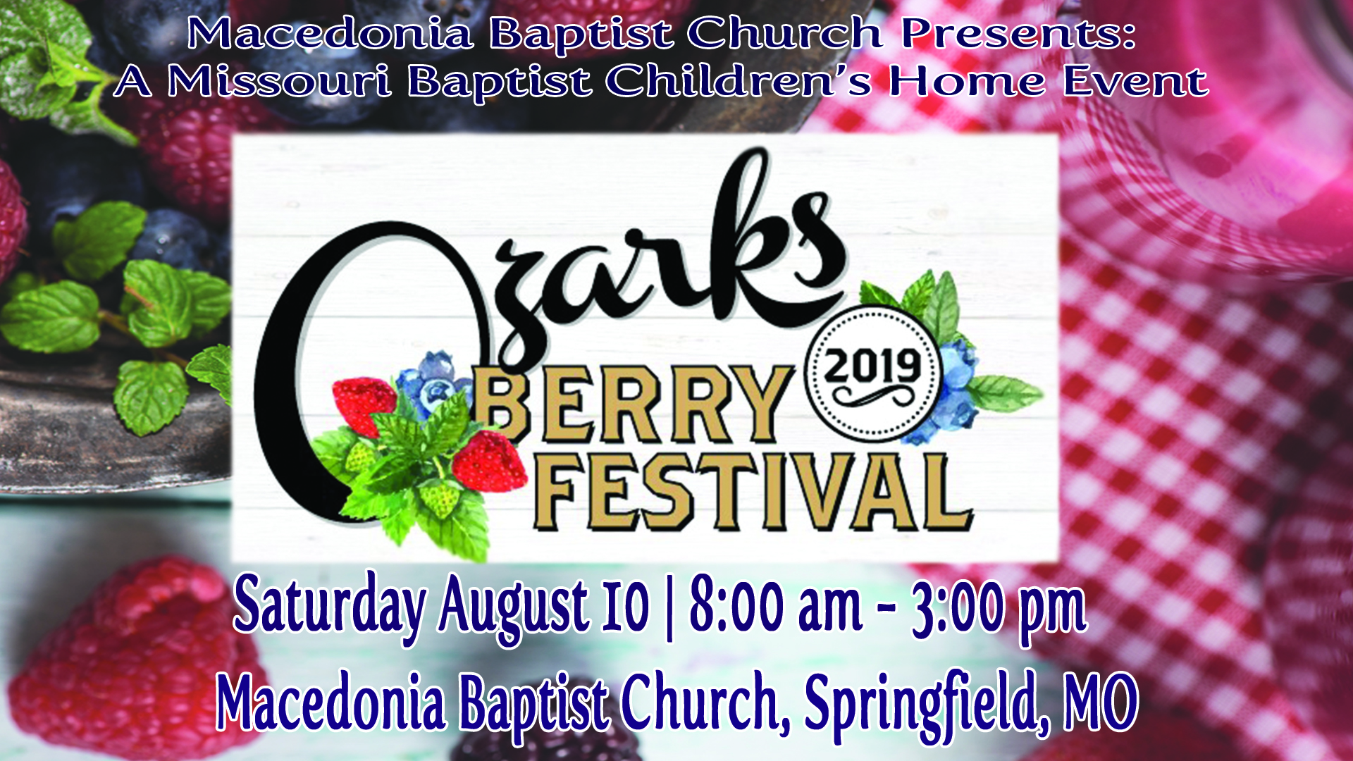 2019 Ozark Berry Festival Article Image