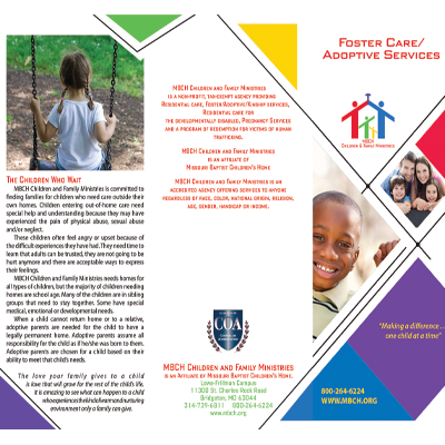 Foster Care Adoptive Services Thumb