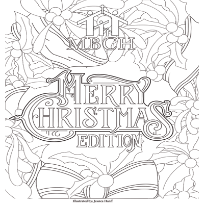 Adult Coloring Book - Christmas Edition Thumb