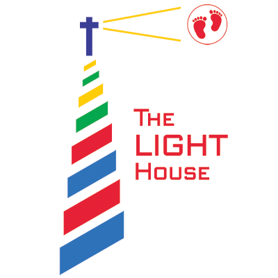 LIGHT House logo flat PNG